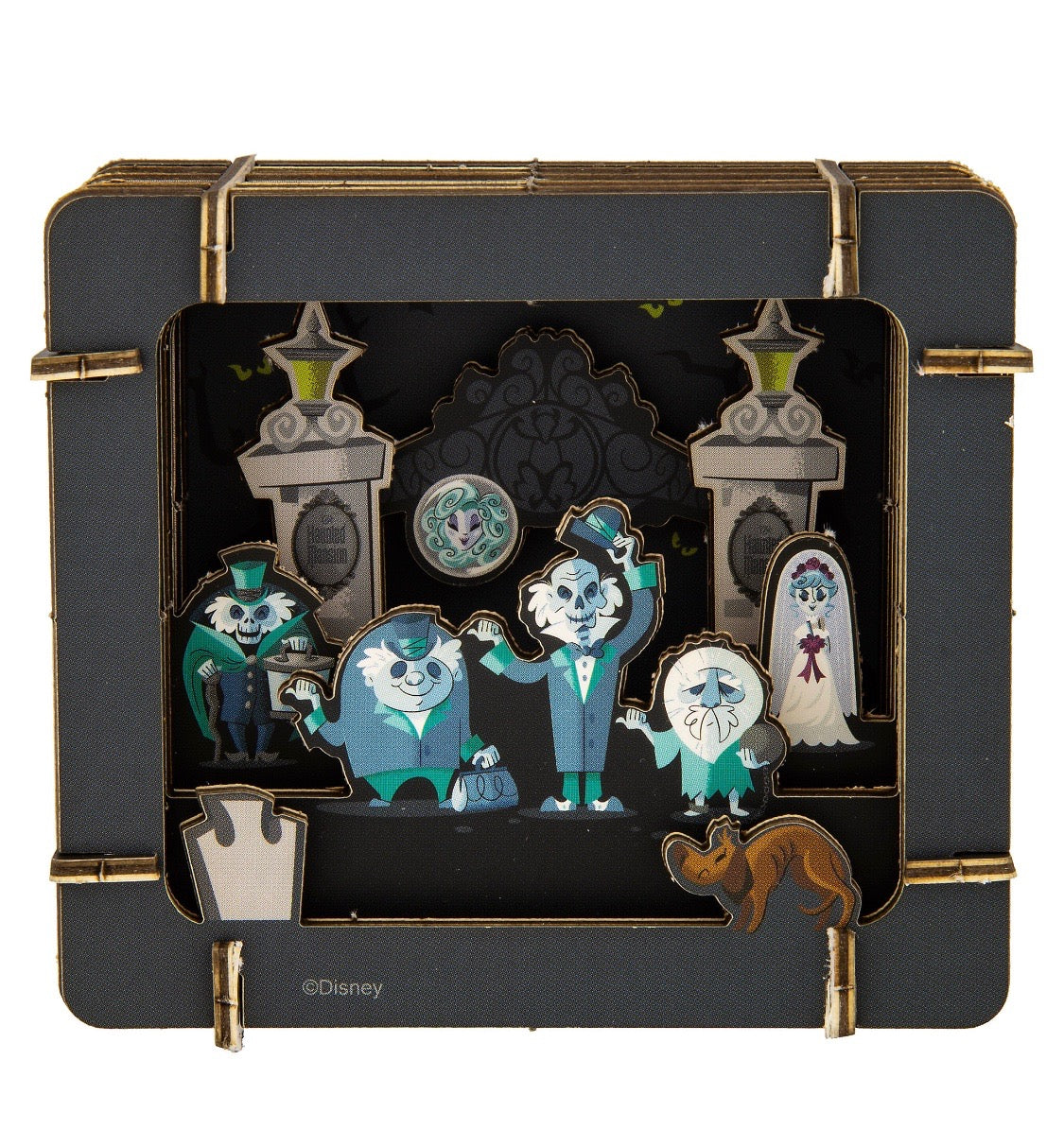 9a0fe646c24 Disney Parks Haunted Mansion Paper 3D Diorama Set New Sealed – I Love  Characters
