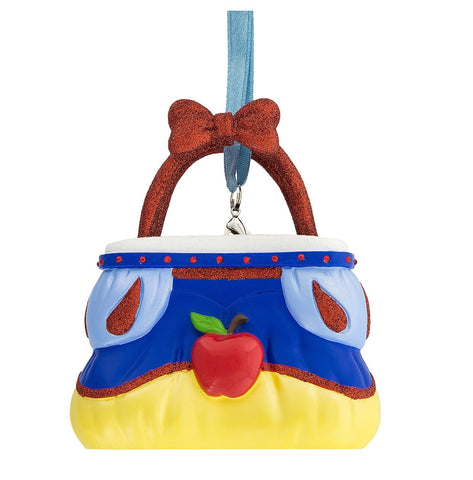 Disney Parks Snow White Purse Handbag Christmas Resin Ornament New with Tags