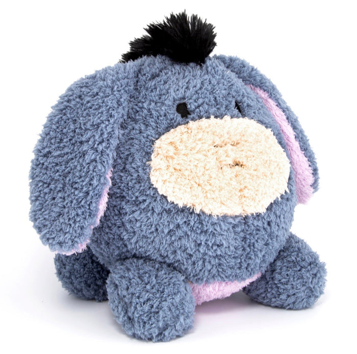 "disney parks authentic 9"" eeyore soft round plush pillow new with tags"