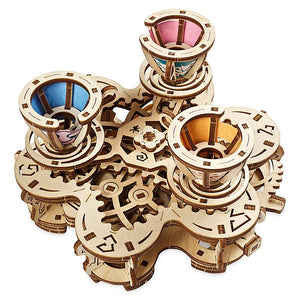 Disney Parks Mad Tea Party Attraction Puzzle by UGears New with Box