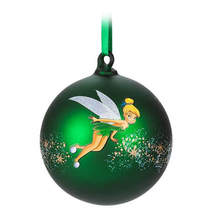 Disney Parks Tinker Bell Artist Series Limited Ball Christmas Ornament New w Box