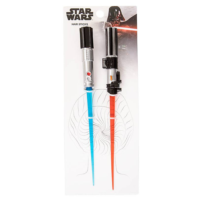 Disney Parks Star Wars Lightsaber Hair Sticks Set New with Tags