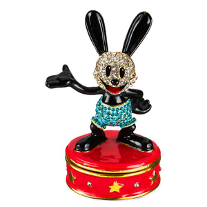 Disney Parks Oswald Lucky Rabbit Trinket Box by Arribas Brothers New with Box