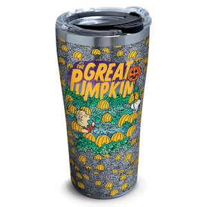 Tervis Peanuts Great Pumpkin Stainless Steel Tumbler 20 oz New