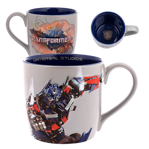 Universal Studios Transformers Optimus Prime Ceramic Coffee Mug New