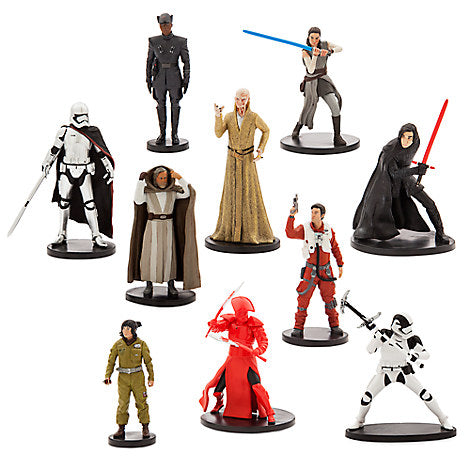 Disney Parks Star Wars: The Last Jedi Deluxe Figure Play Set New with Box