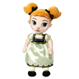Disney Animators' Collection Anna Doll Small Plush New with Tags