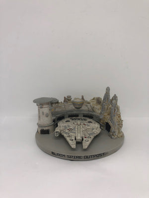 Disney Parks Star Wars Galaxy's Edge Black Spire Outpost Resin Figurine New