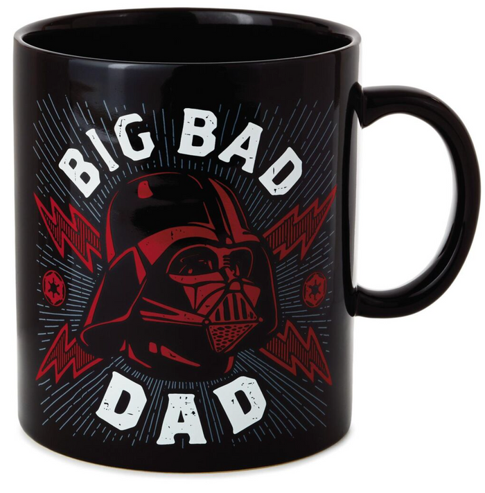 Hallmark Star Wars Darth Vader Big Bad Dad Jumbo Mug 60 oz New