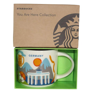 Starbucks You Are Here Collection Germany Ceramic Coffee Mug New with Box