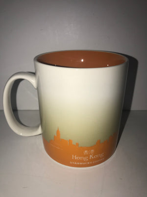 Starbucks Global Icon Collection Hong Kong Ceramic Coffee Mug New