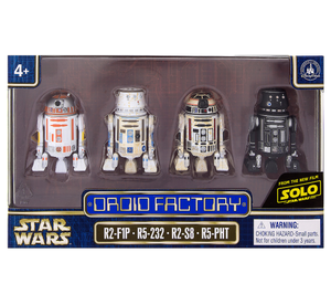 Disney Parks Solo Star Wars Droid Factory Figures Set New with Box