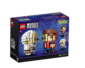 Lego 41611 BrickHeadz Marty McFly & Doc Brown Back To The Future New with Box