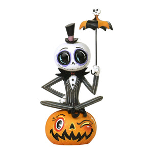 Disney The World of Miss Mindy Halloween Jack Skellington Figurine New with Box