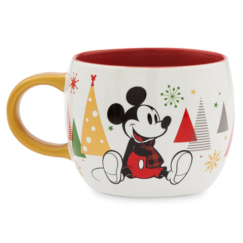 Disney Store Share the Magic Christmas Holiday Mickey Minnie Coffee Mug New