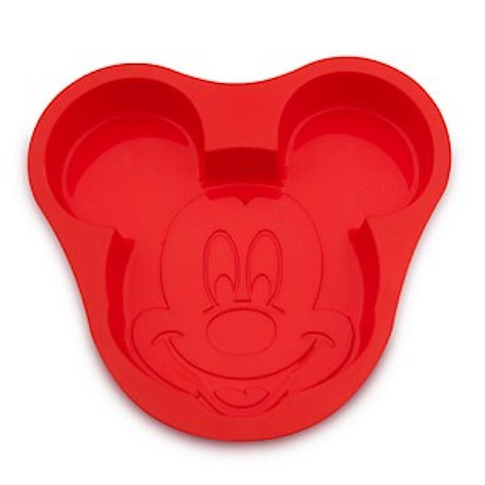 disney parks silicone mickey mouse icon baking mold new with card