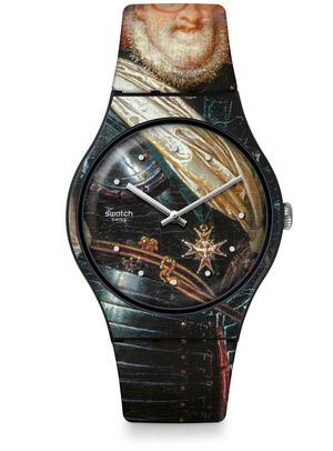 Swatch For Louvre Henry the Force King of France Limited Watch New with Box