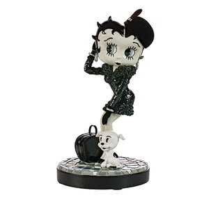 Universal Studios Betty Boop Resin Glitter Statue New with Box