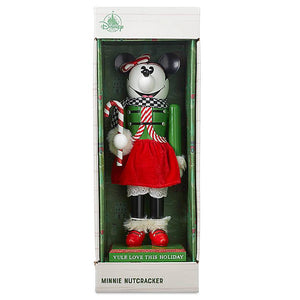 Disney Parks Yuletide Farmhouse Minnie Mouse Holiday Nutcracker New with Box