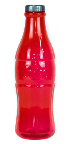 "Authentic Coca-Cola Coke Red Contour Bottle Coin Bank 11"" New"