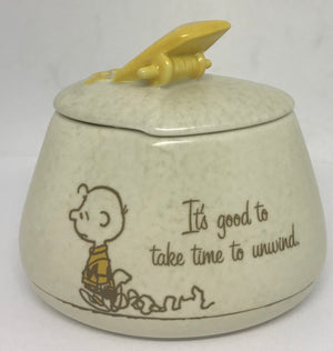 Hallmark Peanuts Charlie Brown It's Good to Take Time to Unwind Box New