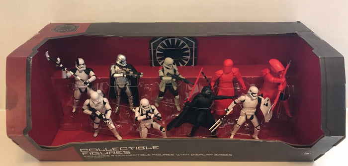 Disney Parks Star Wars Galaxy Edge Trooper Phasma Kylo Collectible Play Set New