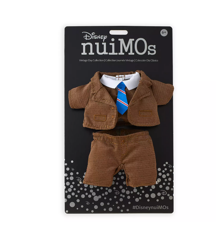 Disney NuiMOs Collection Outfit Brown Tweed Suit Set New with Card
