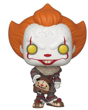 Funko Pop! IT Chapter 2 Pennywise with Beaver Hat Fye Exclusive New with Box
