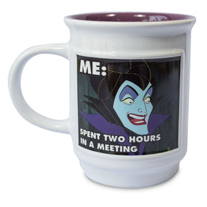 Disney Villains Sleeping Beauty Maleficent Dragon Meme Coffee Mug New