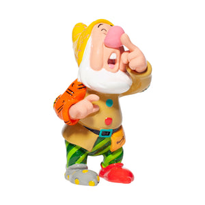 Disney Britto Seven Dwarfs Sneezy Mini Figurine New with Box