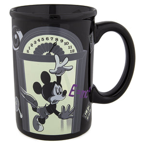 Disney Parks the Twilight Zone Tower of Terror Mickey Glow in the Dark Coffee Mug New