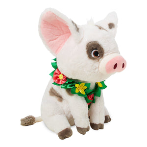 Disney Store Pua Plush with Lei Moana Medium 14'' New With Tag