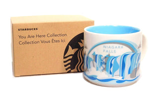 Starbucks You Are Here Niagara Falls Ceramic Coffee Mug New with Box