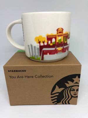 Starbucks You Are Here Collection Madrid Ceramic Coffee Mug New with Box