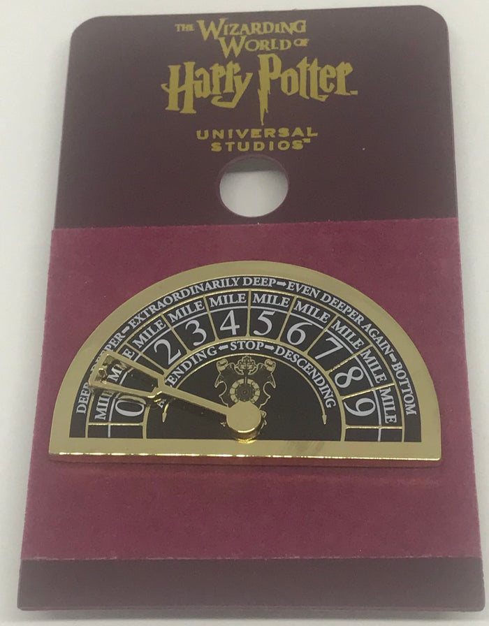 Universal Studios Harry Potter Gringotts Elevator Dial Pin Wizarding World New