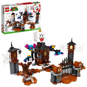 Lego 71377 Super Mario King Boo and the Haunted Yard Expansion Set New with Box