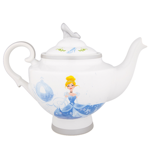 Disney Parks Cinderella Teapot Ceramic Slipper Carriage New With Tags