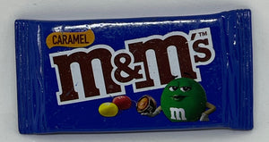 M&M's World Caramel Candy Bag Magnet New with Tag