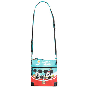 Disney Parks Mickey and Friends Skyliner Crossbody Bag by Dooney & Bourke New