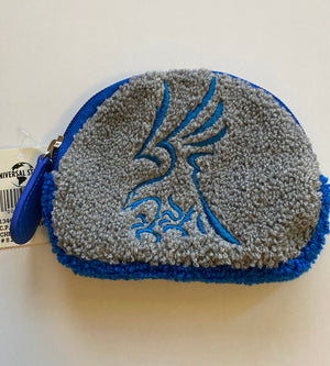 Universal Studios Harry Potter Ravenclaw Chenille Coin Purse New With Tags