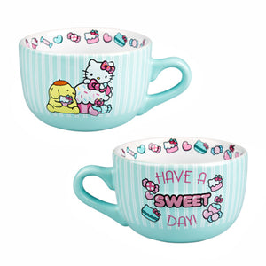 Universal Studios Hello Kitty Have a Sweet Day Latte Mug New
