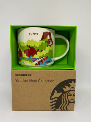 Starbucks You Are Here Collection Zunyi China Ceramic Coffee Mug New With Box