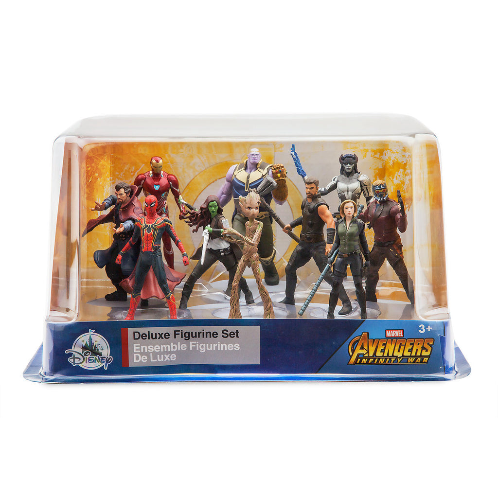 Disney Marvel Avengers Infinity War Deluxe Figure Play Set