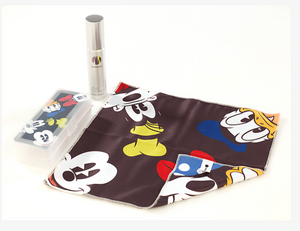Disney Fab 5 All Characters Sunglass Hut Limited Cleaning Cloth Kit New w Case