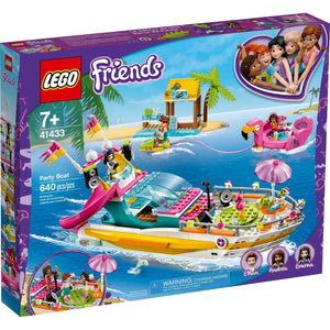 Lego 41433 Friends Party Boat Building Kit New with Sealed Box