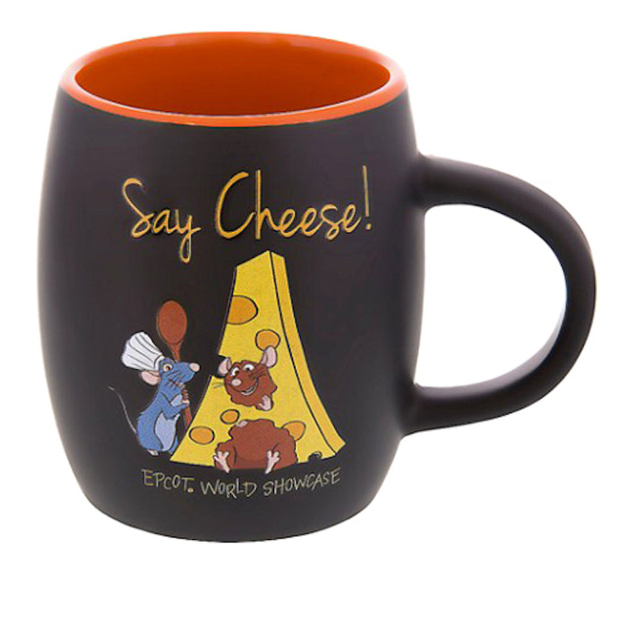 disney parks epcot ratatouille remy say cheese ceramic coffee mug cup new
