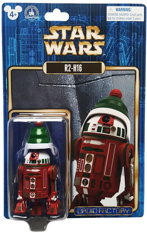 Disney Parks Star Wars R2-H16 Christmas Holiday Droid Factory New with Box