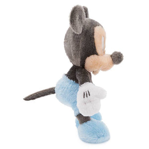 Disney Parks Mickey Mouse Rattle Plush for Baby Small Plush New with Tag