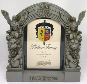 Disney Parks Magic Kingdom Beauty and the Beast Photo Bog Statue Frame New