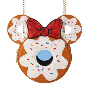 Disney Parks Minnie Donut Crossbody Bag by Danielle Nicole New with Tags